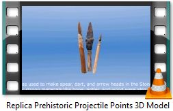 Prehistoric projectile points